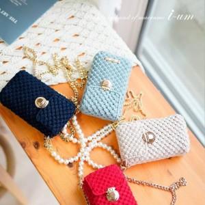 分享一组ium-macrame编织达人的包包系列