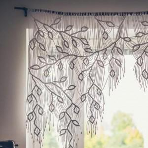 Macrame棉绳编结真的太美了,能做的小物都好实用,结绳手工