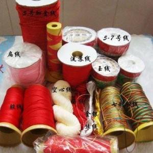 中国结绑玉打结线材种类大全,玉器店买挂绳也有讲究