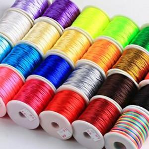 中国结手工编织绳常用线材详细介绍,手把手教你挑选