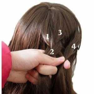 3款蜈蚣编辫子发型方法图解,参加朋友宴会或出去游玩时必备!