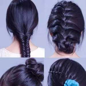 四款蜈蚣辫发型扎法速学 麻花辫的几种不同编发