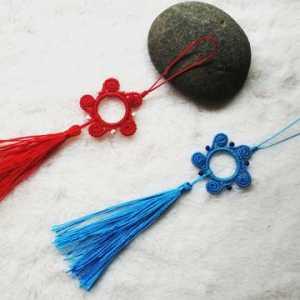 喜欢古风的看过来 手工编织创意古风流苏挂饰方法教程