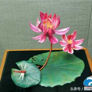我国传统女红手艺缠花,你猜有多美?若是欣赏不到,多么的遗憾啊