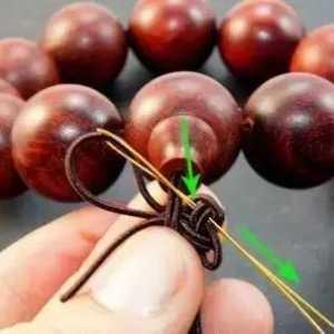 佛珠手串手链如何编织打结-八种佛珠绳结打法教程