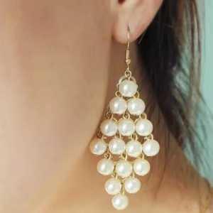 串珠耳环教程-教你用米珠编耳环串出惊艳好看的耳饰