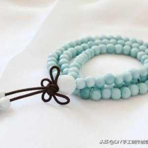 花样串珠手链教程,六款简单自制漂亮的串珠手链做法