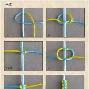手串绳结打法图解,手串打结最简易的2种编法