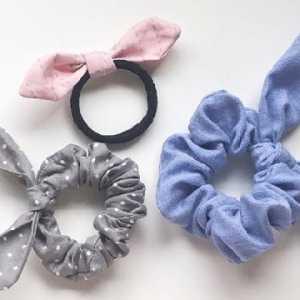 蝴蝶结发圈制作教程,教你大肠发圈蝴蝶结怎么制作