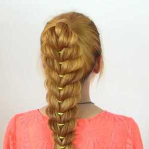 初中生马尾辫怎么扎好看,学生马尾辫扎发的扎法图解
