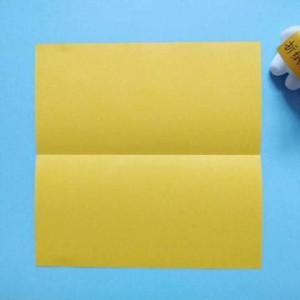 简单折纸文具盒,用纸折笔盒最简单的方法