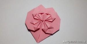 爱心折纸教程图解大全,十款七夕情人节爱心折纸教程