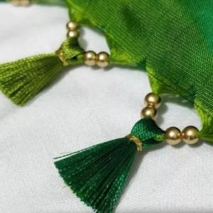 毛线制作流苏穗子方法,衣服流苏怎么做