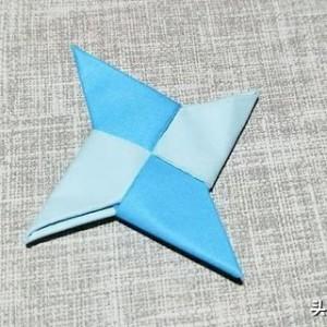 简单好玩的回力折纸飞镖,告诉你折纸飞镖怎么折