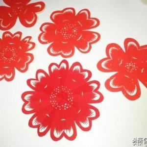 八种窗花折叠剪纸的折法整理及对比