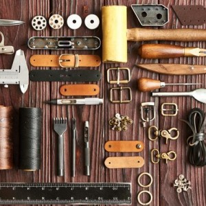DIY制作皮具都会用到哪些工具和皮料——皮匠是怎样练成篇