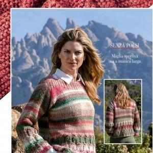 女士粗线外套毛衣编织方法,七款女士毛衣花样大全图