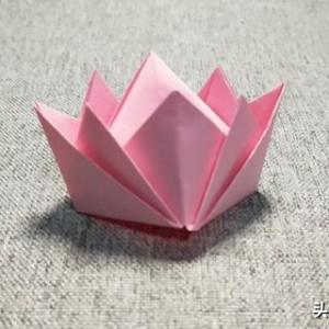 皇冠折纸图解教程,教你简单漂亮的皇冠怎么折