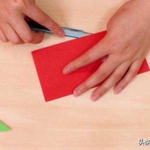 飞镖折纸简单做法教程,简单漂亮回旋飞镖步骤图