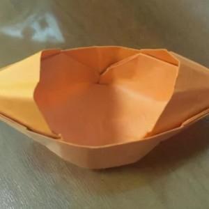 乌篷船折纸步骤图解,长方形纸船的折法