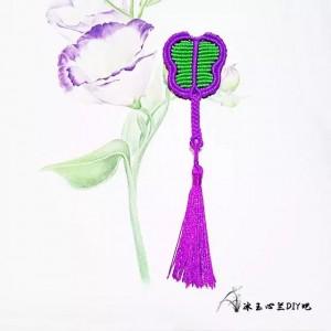 中国线芭蕉扇编法图解,编绳扇子的制作过程