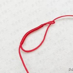 端午节编绳教程,简单可爱小粽子编法图解