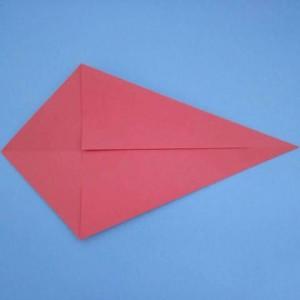 手工折纸小虾步骤图片详解,简单好看好玩