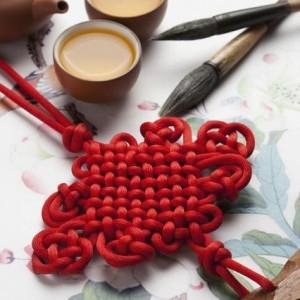 中国结的由来和历史:从结绳记事到传递爱情,吉祥如意广为流传
