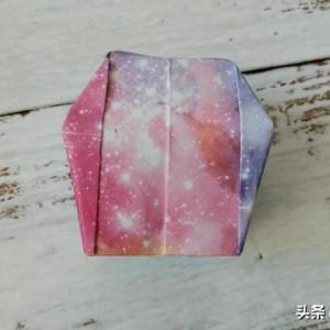 孔明灯折纸教程,简单好看的儿童手工制作步骤