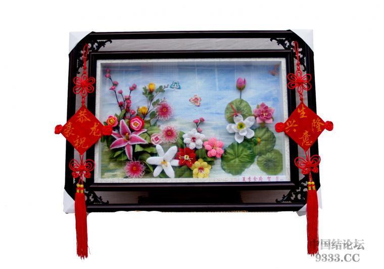 中国结论坛 原创------粉色渐变香水百合  立体绳结教程与交流区 7158_1262093760ZPhl