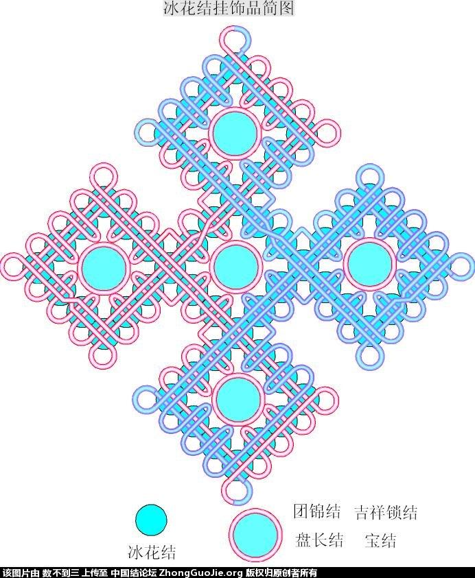中国结论坛 数不到三冰花简图  冰花结(华瑶结)的教程与讨论区 232241wzli0p7oxz5g532n