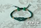 重做绿色绕线手链用线量与做法