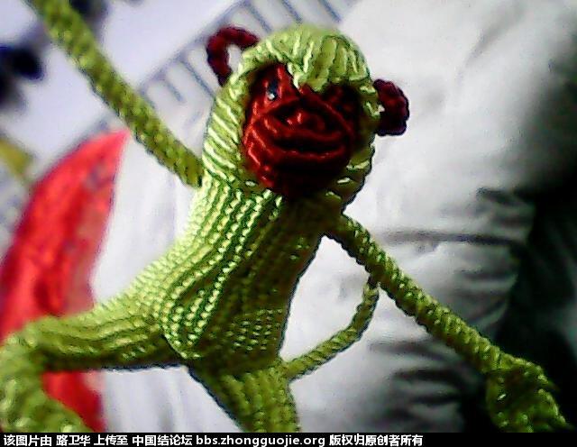 中国结论坛 猴子  立体绳结教程与交流区 210532yhf8cfyicyjj880c