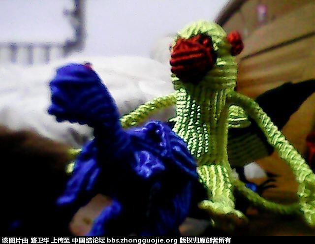 中国结论坛 猴子  立体绳结教程与交流区 2105361jat1efjt1fzasjf