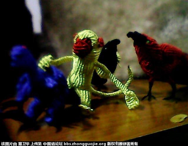 中国结论坛 猴子  立体绳结教程与交流区 2105422p3xqor6r3piij7m
