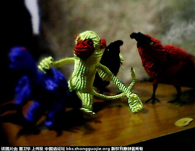 中国结论坛 猴子  立体绳结教程与交流区 210544tt6bt0toda9lybaf