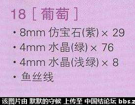 中国结论坛 <教程分享>鱼线串珠葡萄教程  串珠其他手工资料分享 120129bemc004q2pzs4cbq
