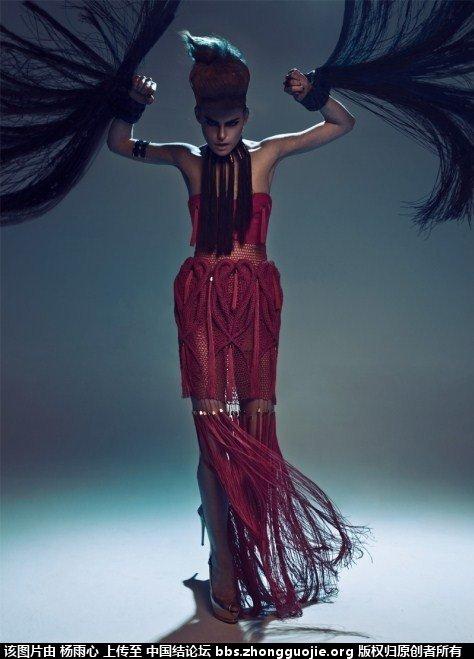 中国结论坛 外国人眼中的结艺——时尚 外国人,时尚 作品展示 104957xmdbjbhcoqadlvla