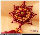 中国结作品的背景—绒布