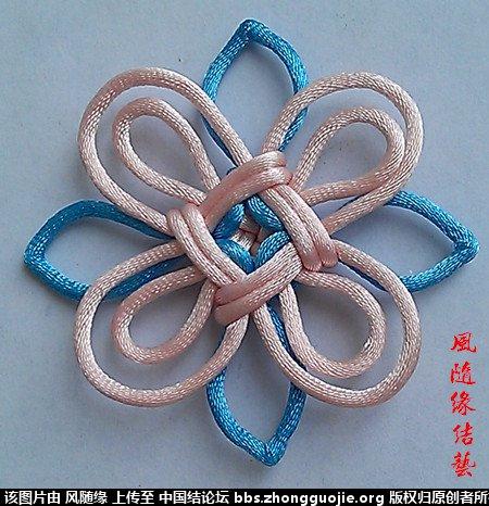 中国结论坛 套色吉祥结专辑  作品展示 2113052lyyc72r8gpcr02g