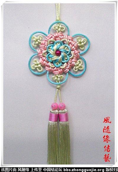 中国结论坛 套色吉祥结专辑  作品展示 211341cb043akddr0kb9cr