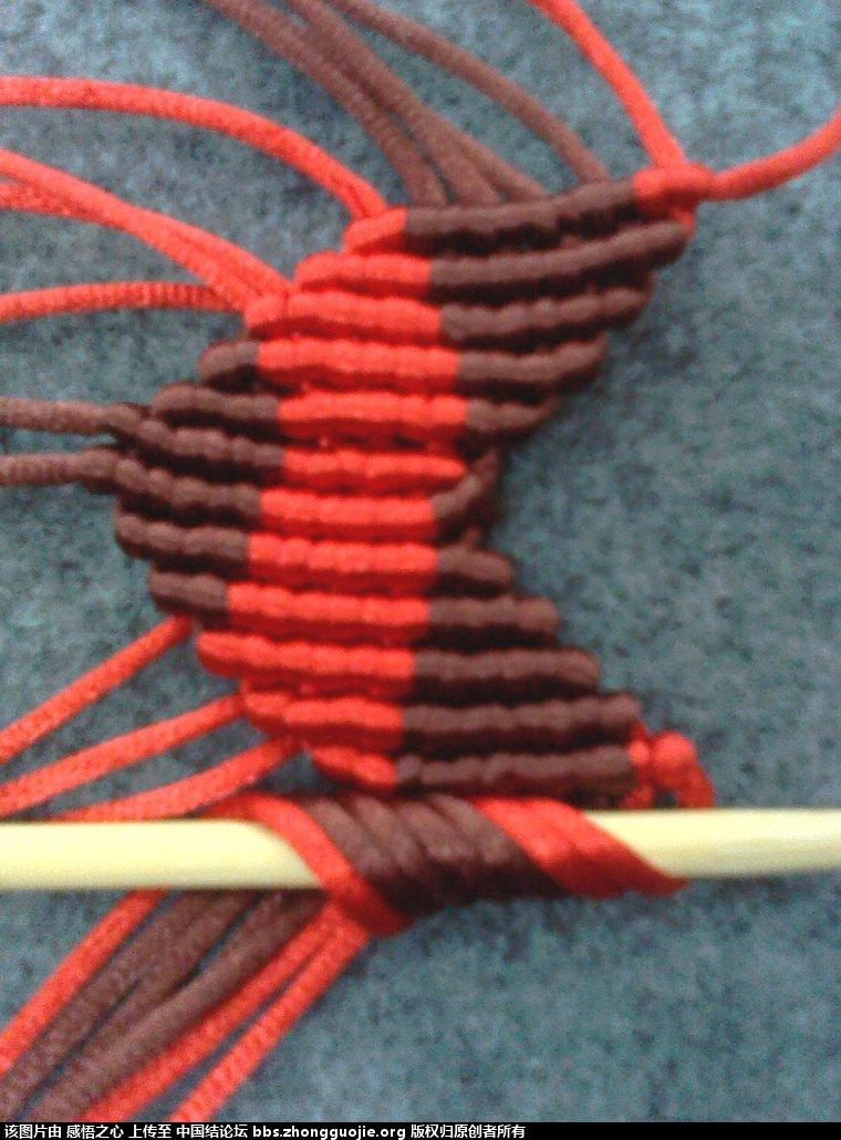 中国结论坛 小蝴蝶的编织过程 编织,蝴蝶 立体绳结教程与交流区 160212map88ny0zq6666fq