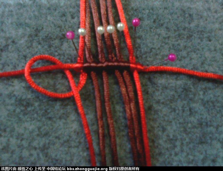 中国结论坛 小蝴蝶的编织过程 编织,蝴蝶 立体绳结教程与交流区 160330e447unq11mp1q11f