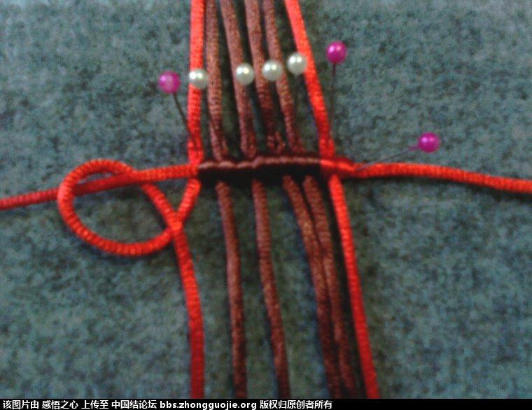 中国结论坛 小蝴蝶的编织过程 编织,蝴蝶 立体绳结教程与交流区 160344im4dsmz6iam13m4u
