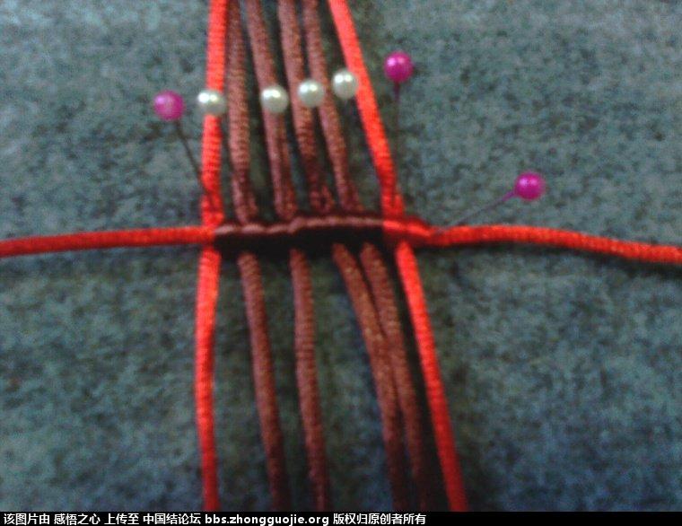 中国结论坛 小蝴蝶的编织过程 编织,蝴蝶 立体绳结教程与交流区 1603510dfqz5h6h50i7ii5