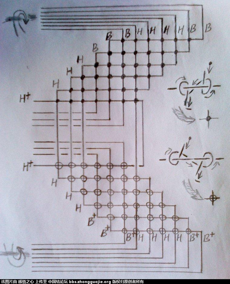 中国结论坛 小蝴蝶的编织过程 编织,蝴蝶 立体绳结教程与交流区 160509hq94rqja5f9zoob3