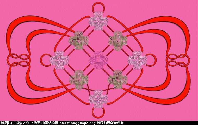 中国结论坛 【阅读简图】认识冰花结的简图 基础知识,示意图,中心 冰花结(华瑶结)的教程与讨论区 212022s5iyj5lq99vhlqdl