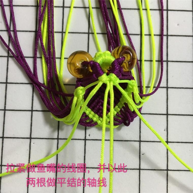中国结论坛 两款小金鱼教程  立体绳结教程与交流区 101401m3dy14q3d4d4z39y