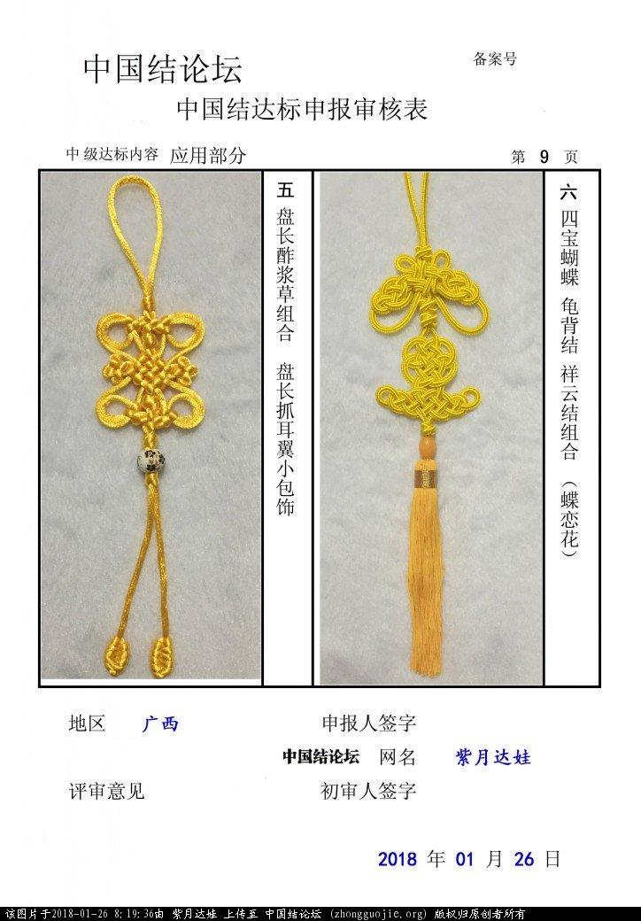 中国结论坛 紫月达娃-中级达标申请  中国绳结艺术分级达标审核 081935b3pxqmipmpl3vfi6