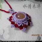[水清木华作品]72-心仪的项链吊坠-生命之花